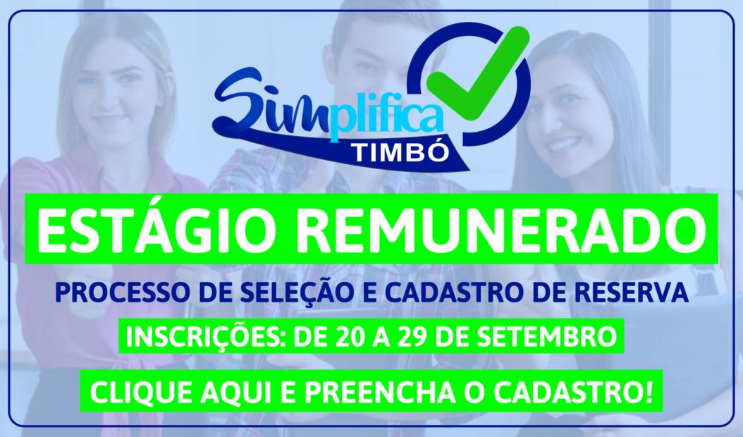 SIMPLIFICA – ESTÁGIO REMUNERADO – TOPO DE SITE – setembro_Prancheta 1
